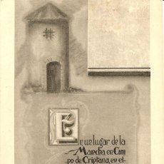 Postales: PUBLICIDAD GRAN BODEGA LOS MOLINOS - RAMON BEAMUD - TEMATICA DON QUIJOTE - SIN CIRCULAR. Lote 16649015