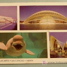 Postales: CIUDAD DE LAS ARTES Y LAS CIENCIAS. VALENCIA. Lote 10777075