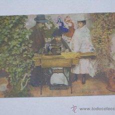 Postales: PUBLICIDAD DE SINGER . BOLIVIA .. Lote 278326433