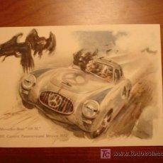 Postales: MERCEDES - BENZ '300 SL'. III. CARRERA PANAMERICANA. MEXICO 1952. . Lote 13398729