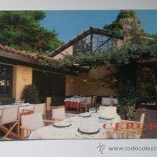 Postales: POSTAL PUBLICITARIA, RESTAURANTE CERCHA, BARCELONA. Lote 12789737