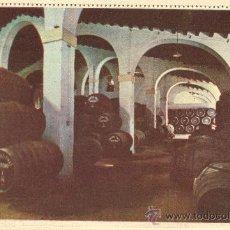 Postales: GONZALEZ BYASS. AÑOS 50. SIN CIRCULAR. BODEGA DE LA . Lote 26485076