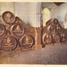 Postales: GONZALEZ BYASS. AÑOS 50. SIN CIRCULAR. BODEGA DE LOS REYES. Lote 26485055