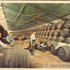 Postales: GONZALEZ BYASS. AÑOS 50. SIN CIRCULAR .MUELLE DE EMBARQUE. Lote 26485045