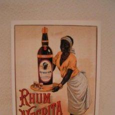 Cartoline: POSTAL PUBLICITARIA - RON NEGRITA - MEDALLA DE ORO EXPOSICION UNIVERSAL DE PARIS 1900. Lote 23187755