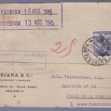 Postales: TARJETA POSTAL DE PUBLICIDAD DE TRIANA & CO. MADRID. Lote 13837721