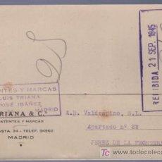 Postales: TARJETA POSTAL DE PUBLICIDAD DE TRIANA & CO. MADRID. Lote 13837726