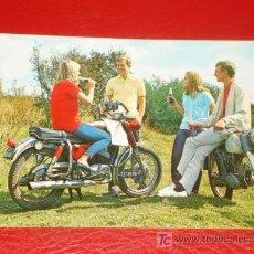 Postales: POSTAL DE PUBLICIDAD DE COCA COLA, AÑOS 60 O 70. Lote 27348049