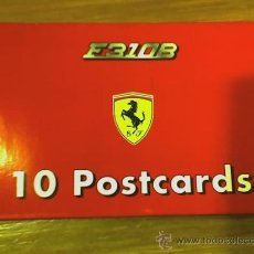 Postales: LOTE DE 10 POSTALES DE F1 - FERRARI 310 B - 1997 - CARTIERE PAOLO PIGNA - ITALIA - UNICAS!!!. Lote 19397677
