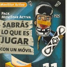 Postales: 7-1589. POSTAL MOVISTAR ACTIVA. Lote 14198272