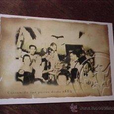 Postales: POSTAL PUBLICIDAD DISCOTECA FIESTA BACARDI. RON BACARDI. . Lote 14507493