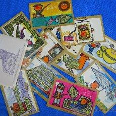 Postales: LOTERIA NACIONAL 12 POSTALES GARBAYO. Lote 15789512