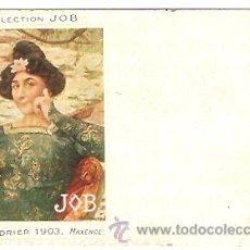 Postales: POSTAL PUBLICIDAD JOB PAPEL DE FUMAR . Lote 14862858