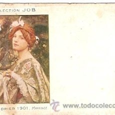 Postales: POSTAL PUBLICIDAD JOB PAPEL DE FUMAR . Lote 14862868