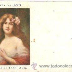 Postales: POSTAL PUBLICIDAD JOB PAPEL DE FUMAR . Lote 14862885