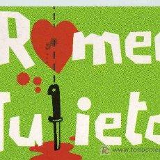 Postales: POSTAL PUBLICITARIA - JOVE TEATRE REGINA, ROMEO I JULIETA. Lote 15109376