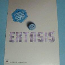Postales: PREVENCION DEL CONSUMO DE EXTASIS. Lote 15405849