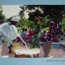 Postales: CARTEL EXPOSICION CARTAS DESDE GAMBIA. Lote 15405978