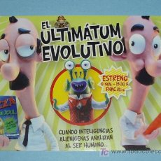Postales: POSTAL EL ULTIMATUM EVOLUTIVO. Lote 15408145
