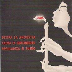 Postales: ANTIGUA POSTAL CON PUBLICIDAD FARMACEUTICA, QUIETAL, LABORATORIOS SPECIA.. Lote 27109953