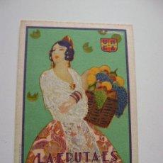 Postales - LA FRUTA ES ALIMENTO SANO.40002 - 22457064