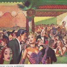 Postales: EDMUNDO ROS´ CLUB LONDON. Lote 18676660