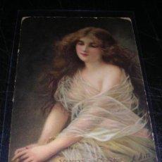 Postales: BILBAO - HARO , VINOS Y COÑAC BODEGAS BILBAINAS. Lote 18350637