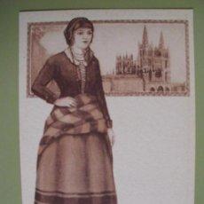 Postales: POSTAL ANTIGUA PUBLICIDAD : BURGOS - TEXTO AL DORSO ASPIRINA BAYER. Lote 18758317