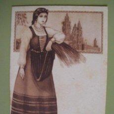 Postales: POSTAL ANTIGUA PUBLICIDAD : GALICIA - TEXTO AL DORSO ASPIRINA BAYER. Lote 18758333