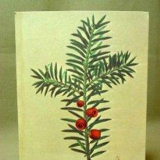 Postales: ANTIGUA POSTAL, PUBLICITARIA, PLANTAS MEDICINALES, TEJO, Nº 25, TEBETANE, CIRCULADA. Lote 19204308