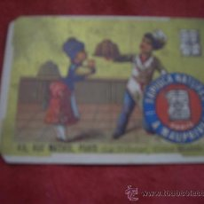 Postales: TAPIOCA NATUREL. Lote 19521232