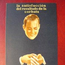 Postais: CORBATAS ORPLID, FABRICA DE CORBATAS Y PAÑUELOS JUAN GISBERT, BARCELONA - AÑOS 1920-30. Lote 20100907