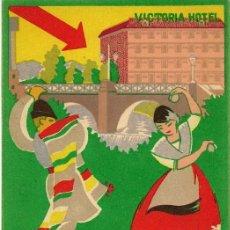 Postales: HOTEL VICTORIA, MURCIA. Lote 26323366