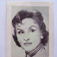 Postales: TITA MERELLO, ARTISTA EXCLUSIVA COCA COLA, MONTEVIDEO 1956. Lote 27343889