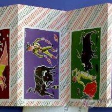 Postales: 6 POSTALES TAURINAS. WILLIAM & HUMBERT LTD. JEREZ DE LA FRONTERA AND LONDON, SIN FECHA.. Lote 22013237