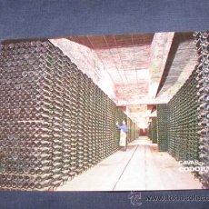 Postales: QUEX POSTALES SIDRA CAVA CHAMPAGNE - POSTAL CAVAS CODORNIU. Lote 21919845