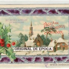 Postales: (PS-19628)POSTAL PUBLICITARIA AGUA DE COLONIA JONHSON. Lote 22037419