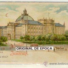 Postales: (PS-19598)POSTAL PUBLICITARIA DE AGUA DE COLONIA JOHNSON. Lote 22038929