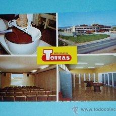 Postales: DIFERENTES VISTAS DE LA FABRICA DE CHOCOLATES TORRAS. Lote 22181541