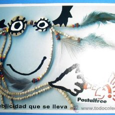 Postales: POSTAL PUBLICITARIA POSTALFREE. Lote 22200160