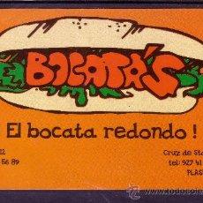 Postales: POSTAL PUBLICITARIA DE EL BOCATA REDONDO EN PLASENCIA - CACERES. Lote 22375499