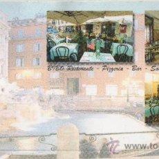 Postales: BIBO. RESTAURANT PIZZERIA. ROMA. . Lote 22762808