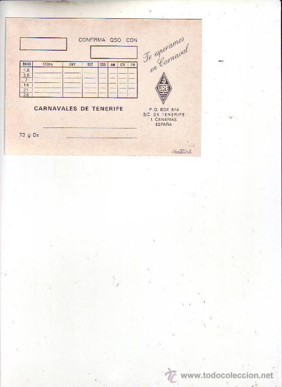 Postales: cartel carnaval 89 santa cruz de tenerife - Foto 2 - 22854035
