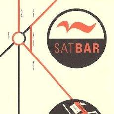 Postales: POSTAL PUBLICITARIA - SAT BAR (BARCELONA). Lote 23610442