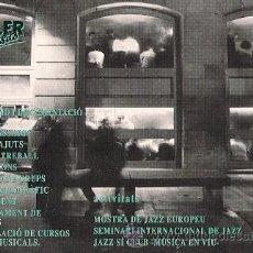 Postales: POSTAL PUBLICITARIA - TALLER DE MUSICS. Lote 23623681