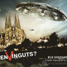 Postales: TV3 - POSTAL PUBLICIDAD TELEVISIÓN - OVNI - ELS VISITANTS - WARNER BROS. Lote 28384650