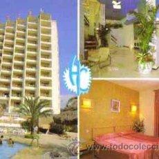 Postales: BENIDORM (ALICANTE) - HOTEL CASTILLA (DIVERSOS ASPECTOS). Lote 24200206