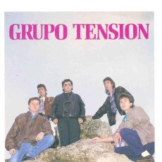 Postales: POSTAL MUSICAL .. GRUPO TENSION. Lote 24574088