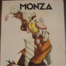 Postales: MONZA - III MOSTRA INTERNACIONAL DEL ARTE DECORATIVO 1927. Lote 25193648
