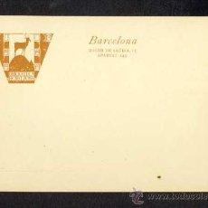Postales: POSTAL PUBLICITARIA: BIBLIOTECA HORITZONS. Lote 25530830